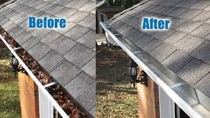 Gutter Cleaning Services Gateshead - Before and After Cleaning